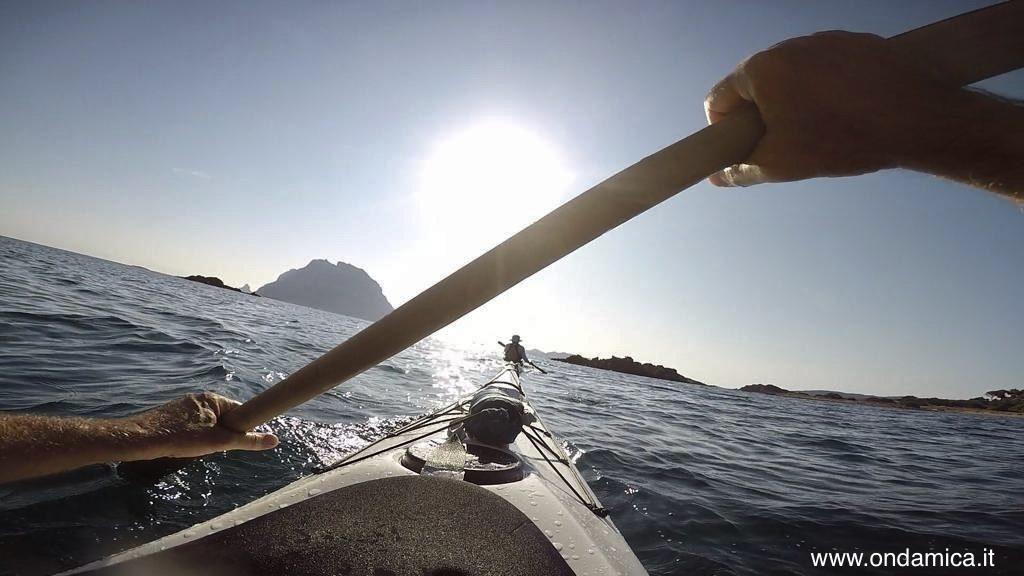 Kayak verso tavolara